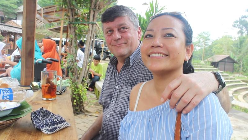 Ibu Wiwin dan Bapak Gerry, dokumentasi GenPI Jogja