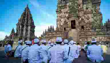 Tawur Agung Kesanga - Candi Prambanan - Foto milik IG @jalutajam