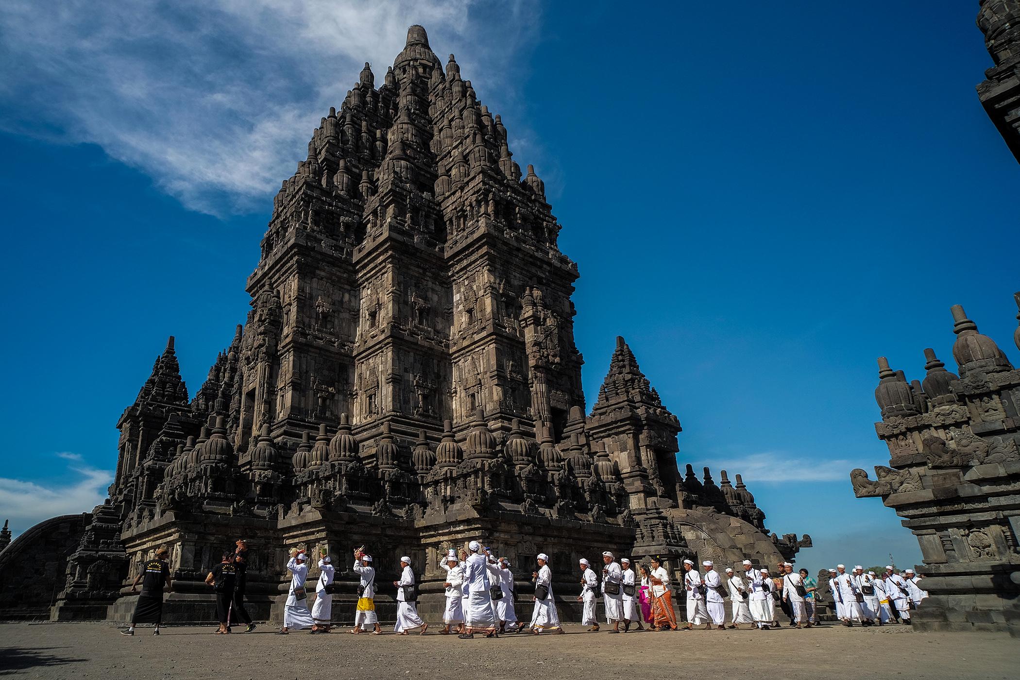Tawur Agung Kesanga di Candi Prambanan - Foto Koleksi IG @jalutajam