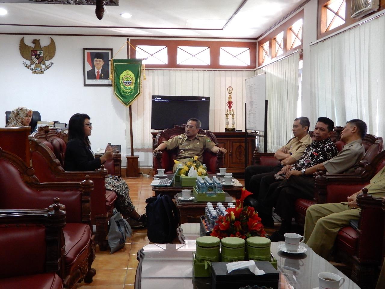 GenPI Jogja Rapat Koordinasi dengan Wakil Bupati Bantul