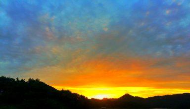 Sunset di Waduk Sermo