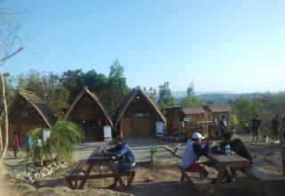 Puncak Sosok di desa Bawuran, Pleret, Bantul