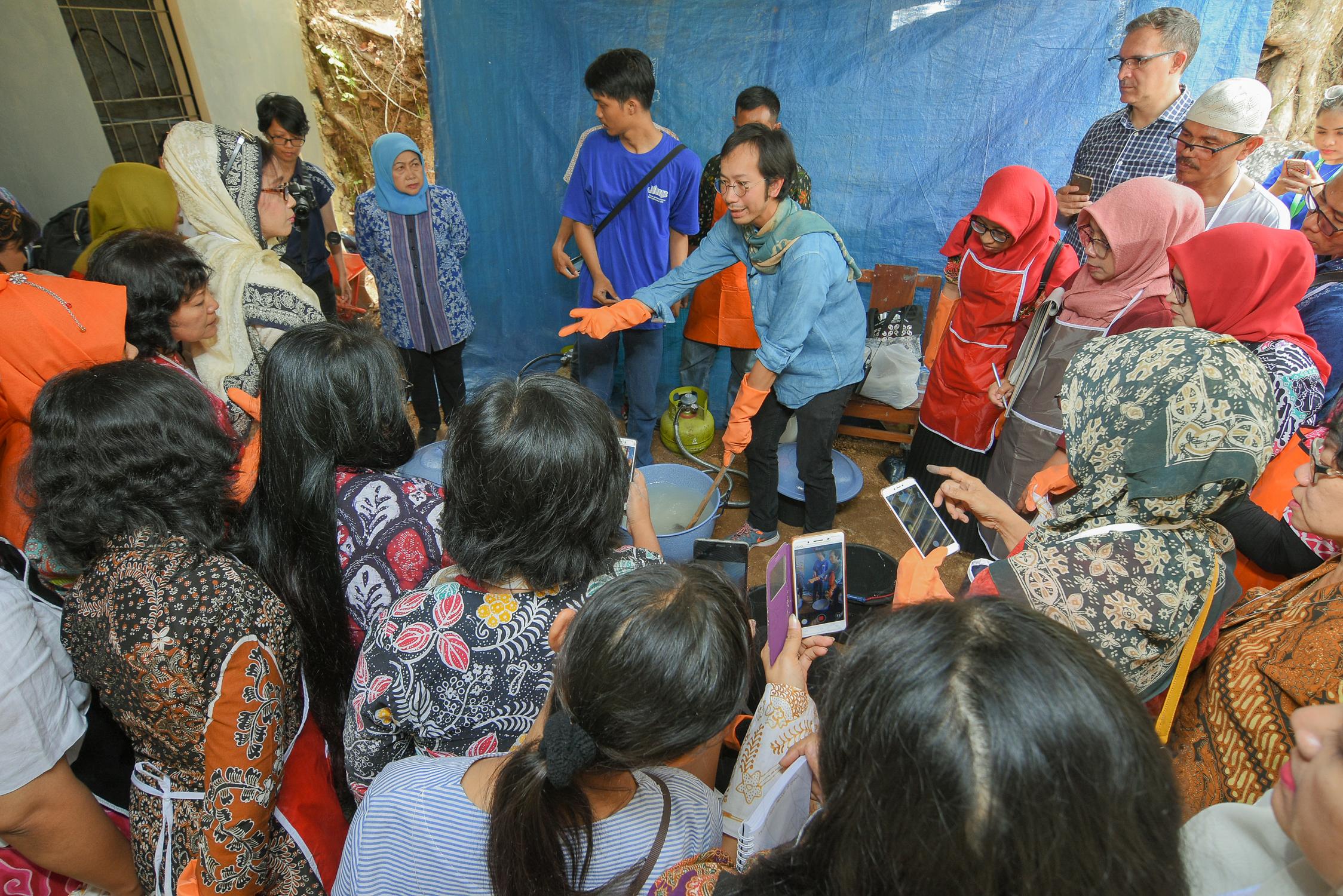 Jogja Internasional Batik Biennale 2018. Foto milik Ary Gunawan.