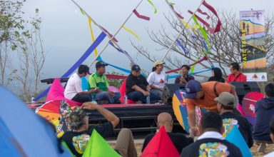 Camping Seru Menikmati Senja dan Malam Syahdu dalam Acara Soft Launching Watu Tapak Camp Hill