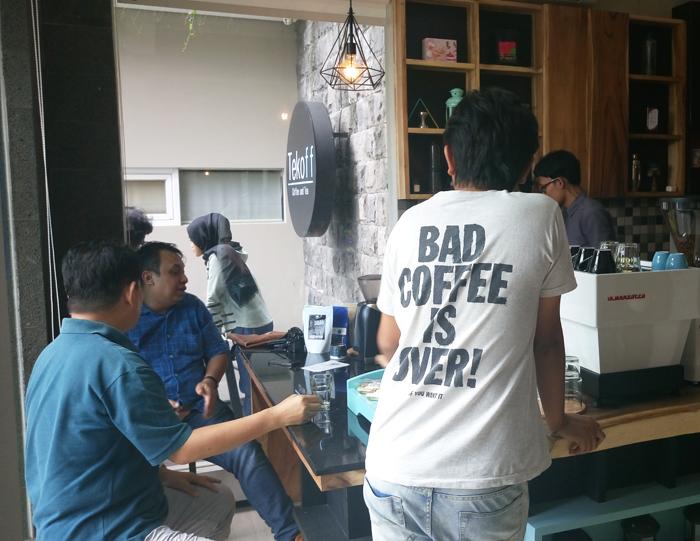 Ngopi Pagi Di Tekoff Coffee And Tea Genpi Jogja