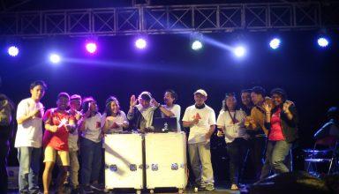Kemeriahan Year End Party Dari Jogja Lantai Dua Watu Tapak Camp Hill
