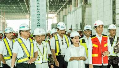 Presiden Joko Widodo meninjau Yogyakarta International Airport