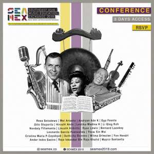 SEAMEX 2019 Southeast Asia Music Education Exchange - Conference