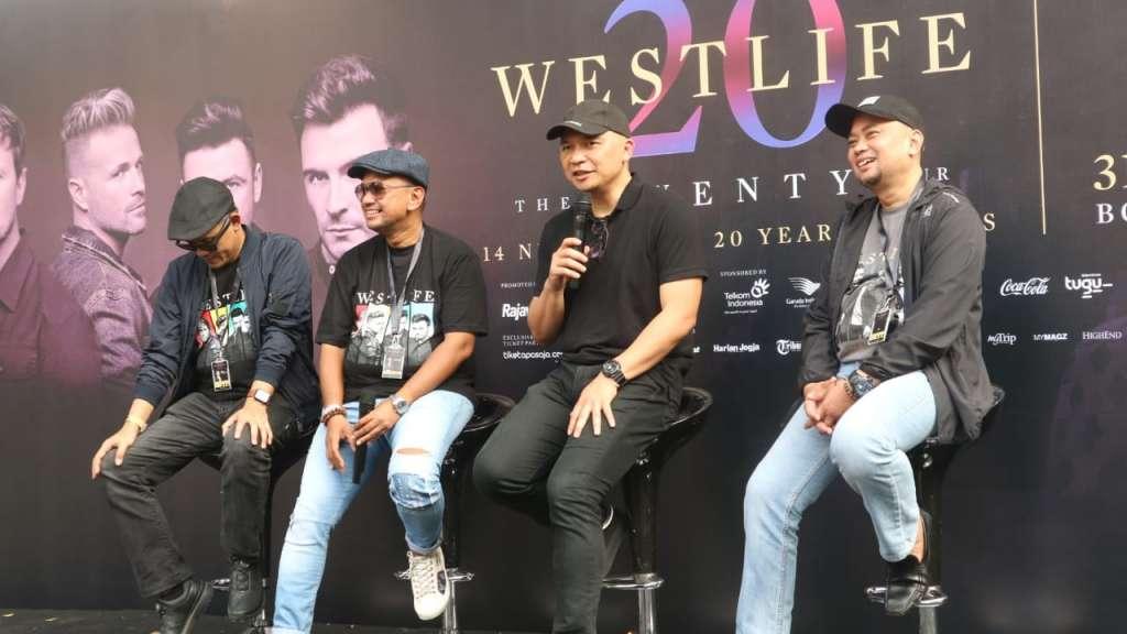"WESTLIFE ""The Twenty Tour"" Borobudur Symphony"