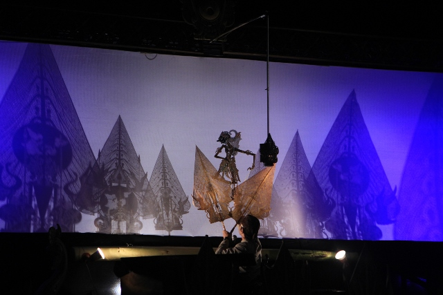 Wayang Ukur Dengan Lakon Kancingjaya di panggung Jogja Cross Culture