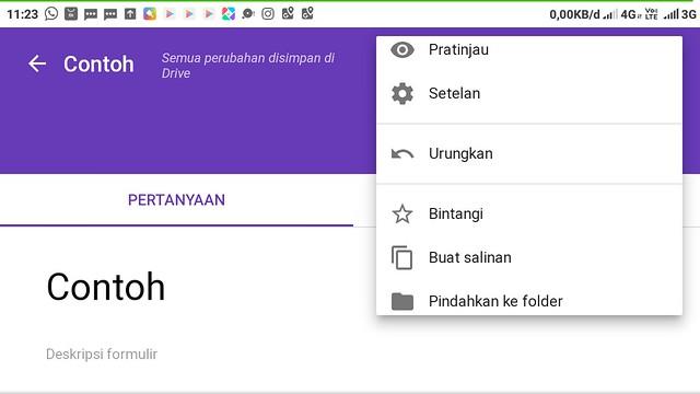 5 Langkah Membuat Google Form Dalam 5 Menit