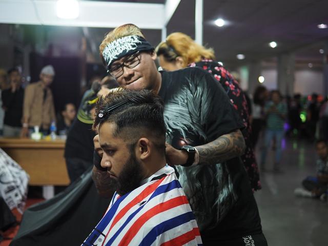 Barber Battle & Workshop Mewarnai ISF 2019, Pesertanya Didominasi Luar Jogja