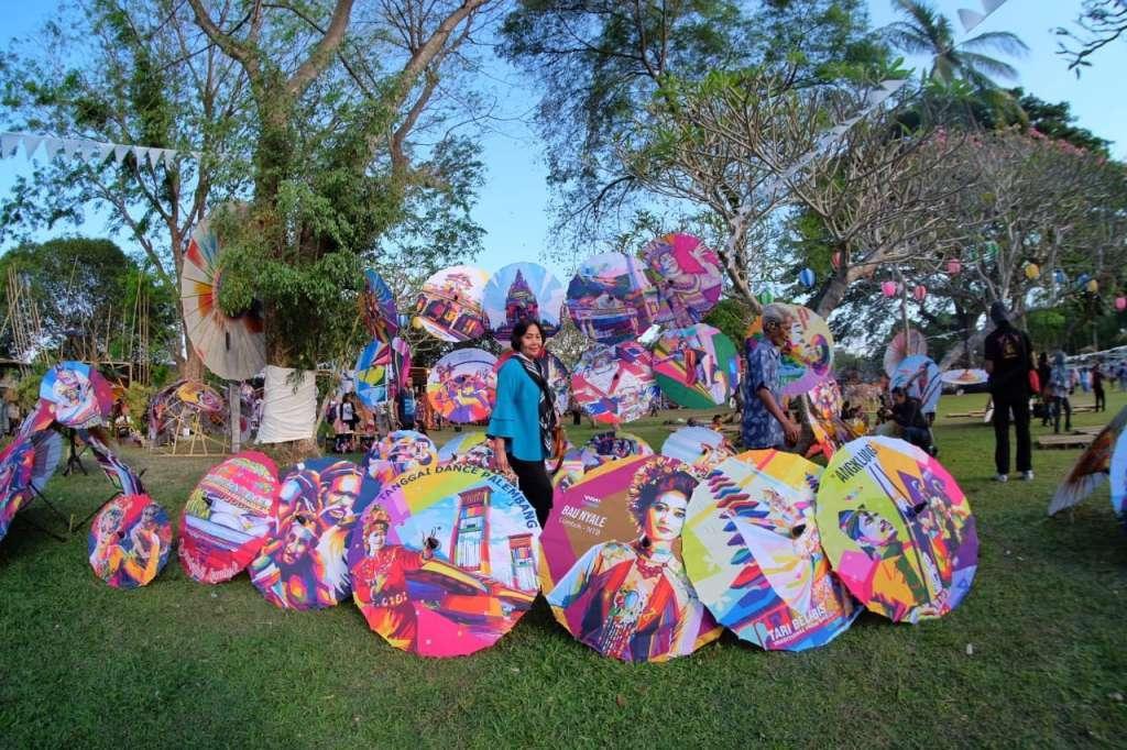 Festival Payung Indonesia (Fespin) 2019 | Fotografer Jalu Tajam
