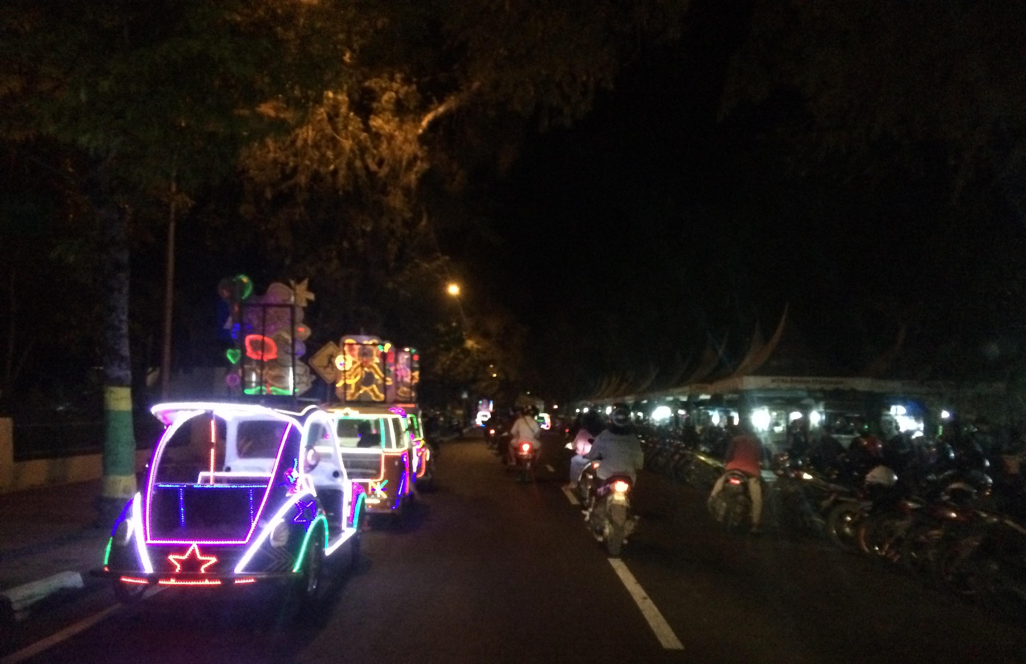 Meretas Rindu di Alun-Alun Wates Kulon Progo