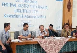 Joglitfest 2019: Sarasehan & Konferensi Pers di Dinas Kebudayaan DIY