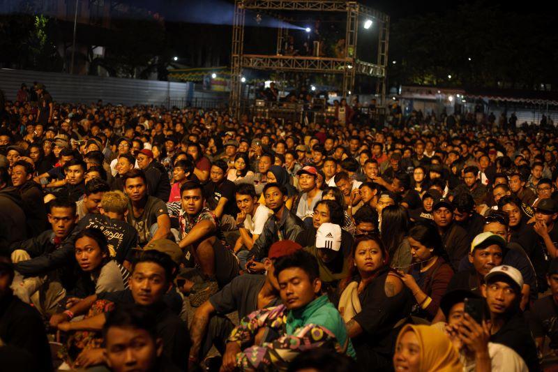 Penonton Indonesian Scooter Festival ISF 2019