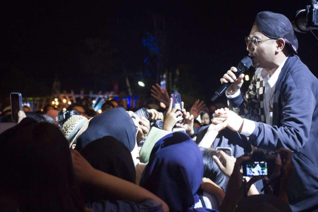Warga Borobudur Bangga Rio Febrian Tampil di Balkonjazz Festival 2019