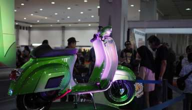 Vespa Darling 90s Jadi Lucky Draw di Indonesian Scooter Festival 2019