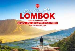 Buka Rute Baru Ke Kulon Progo, AirAsia Ajak Jelajahi Lombok