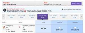 Batik Air Palangkaraya ke YIA Direct Flight