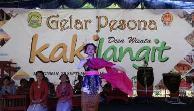 Gelar Pesona Kakilangit, Kemenpar Ajak Desa Wisata Pertahankan Kearifan Lokal