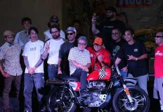 Motor Gamelan Kustom Membuka Secara Resmi Kustomfest 2019
