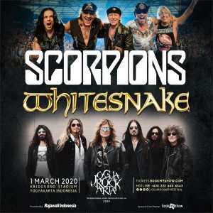 Scorpions dan Whitesnake Dipastikan Tampil di JogjaROCKarta Festival 2020, Catat Tanggal Presale Tiketnya