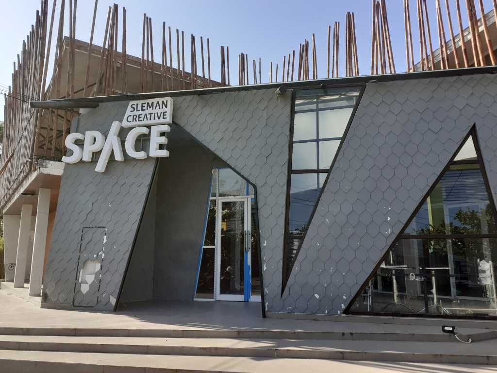 Sleman Creative Space, Coworking Space di Taman Kuliner Condong Catur