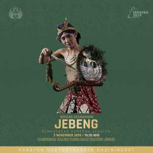 Beksan Jebeng - Pameran Sekaten 2019