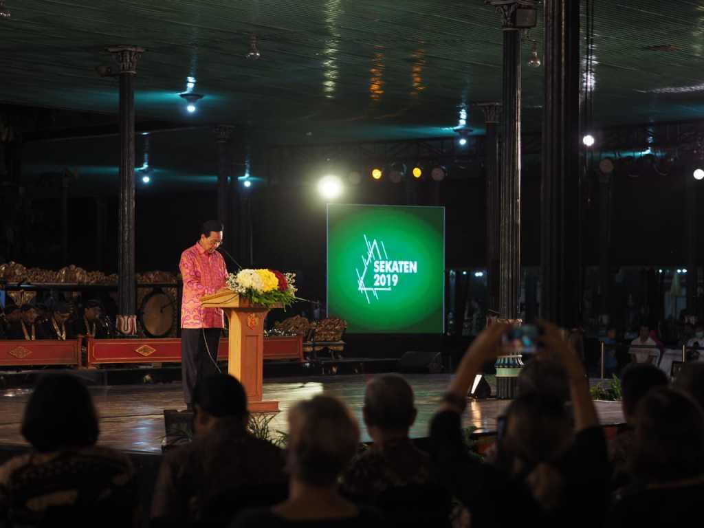 Resmi Dibuka Pameran Sekaten 2019 Tampilkan Guntur Segara Di Grand Opening