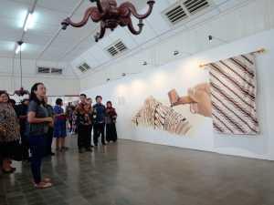 Soft Opening Pameran Sekaten 2019, GKR Bendara Edukasi Media dan Tamu Undangan