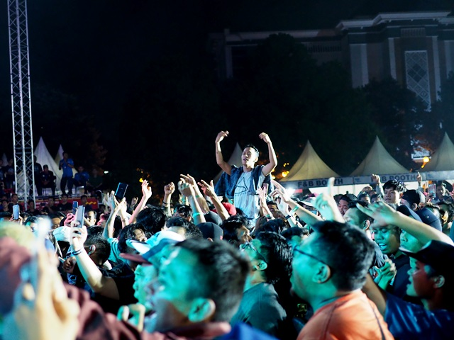 Pecah, New Palapa Goyang Ribuan Penonton Di ROARGAMA 4.0
