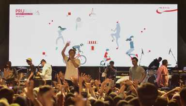 Rizky Febian Meriahkan PRURide Indonesia 2019 Hari Pertama