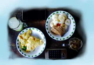 Warung makan Geblek Pari Nanggulan Kulon Progo