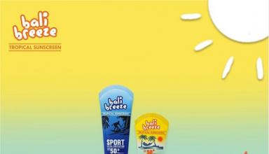 Aman Travelling di Siang Bolong Dengan Bali Breeze Tropical Sunscreen SPF 50+ 100gr by NATASHA