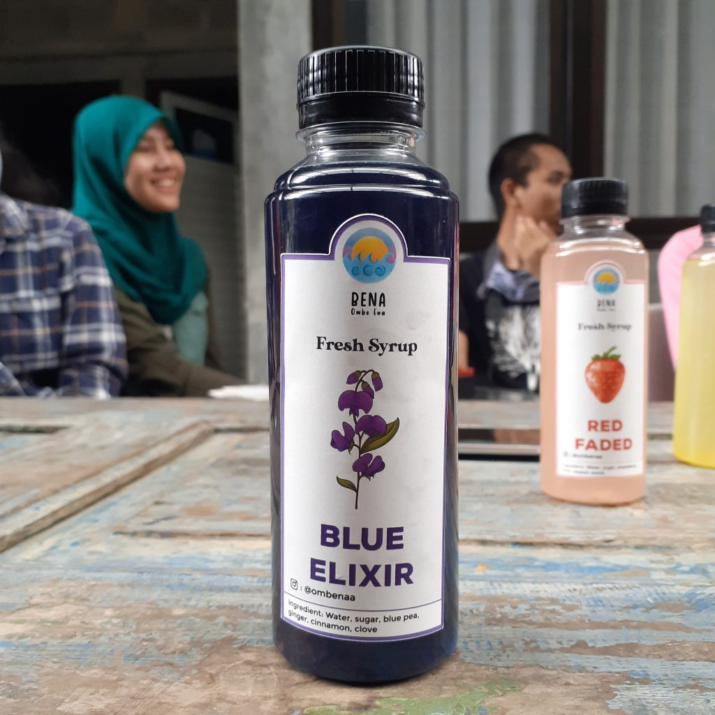 Bena Blue Elixir by @ombenaa