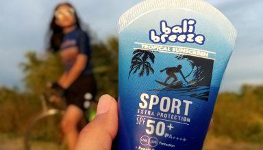 Bali Breeze Tropical Sunscreen Sport Extra Protection, Sunscreen Lokal Pertama di Indonesia
