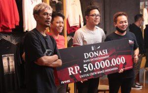 NOAH Sukses Kumpulkan Donasi Untuk Kru Band Indonesia