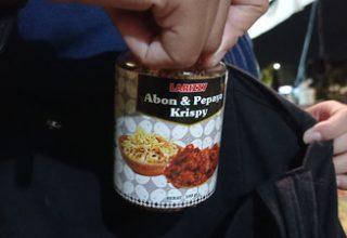 Abon Pepaya Krispy Larizzy, Gurih Kriuk Teman Semangkuk Nasi