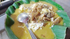 Wajib Coba! Nasi Gandul Satu- Satunya di Kulon Progo